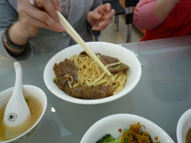 左営区の牛肉麺の有名店「阿福」...
