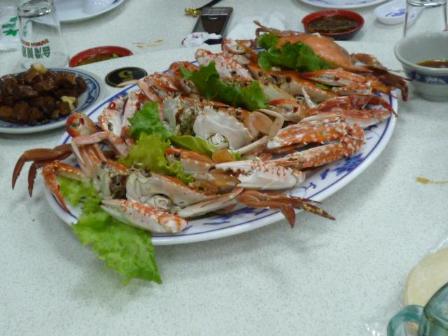 渡り蟹料理