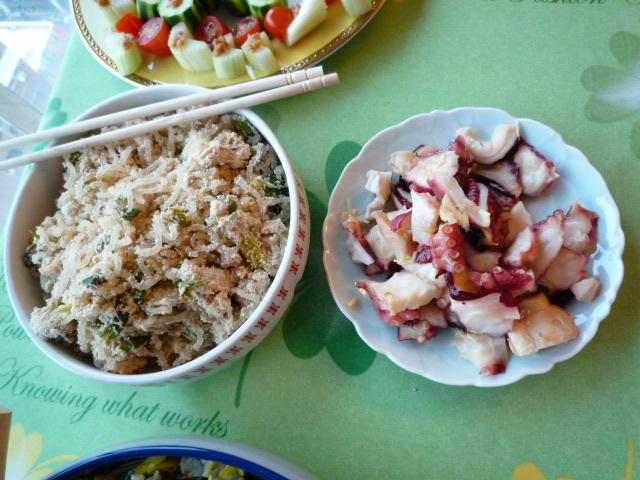 私の作った日本料理