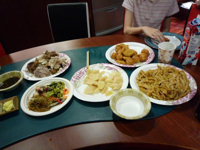 チンウェイの作った台湾料理