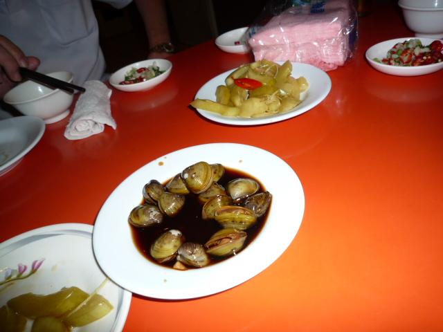 炒蚋仔:シジミの醤油漬け