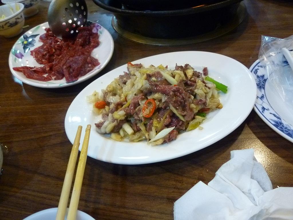 牛老大・牛肉館の牛肉鍋
